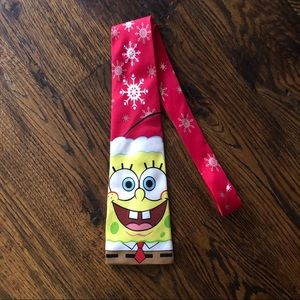 Spongebob Squarepants Christmas Tie